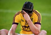 4 July 2018; Darren Codd of Wexford dejected following the Bord Gais Energy Leinster Under 21 Hurling Championship 2018 Final match between Wexford and Galway at O'Moore Park in Portlaoise, Co Laois. Photo by Sam Barnes/Sportsfile