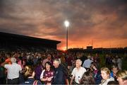 4 July 2018; General view of the sunset after the Bord Gais Energy Leinster Under 21 Hurling Championship 2018 Final match between Wexford and Galway at O'Moore Park in Portlaoise, Co Laois. Photo by Harry Murphy/Sportsfile