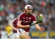 4 July 2018; Jack Fitzpatrick of Galway during the Bord Gais Energy Leinster Under 21 Hurling Championship 2018 Final match between Wexford and Galway at O'Moore Park in Portlaoise, Co Laois. Photo by Sam Barnes/Sportsfile