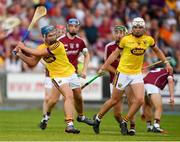 4 July 2018; Conor Firman of Wexford during the Bord Gais Energy Leinster Under 21 Hurling Championship 2018 Final match between Wexford and Galway at O'Moore Park in Portlaoise, Co Laois. Photo by Sam Barnes/Sportsfile