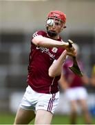 4 July 2018; Tomas Monaghan of Galway during the Bord Gais Energy Leinster Under 21 Hurling Championship 2018 Final match between Wexford and Galway at O'Moore Park in Portlaoise, Co Laois. Photo by Sam Barnes/Sportsfile