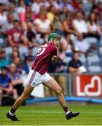 4 July 2018; Brian Concannon of Galway during the Bord Gais Energy Leinster Under 21 Hurling Championship 2018 Final match between Wexford and Galway at O'Moore Park in Portlaoise, Co Laois. Photo by Sam Barnes/Sportsfile