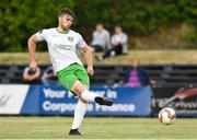 6 July 2018; Conor Keeley of Cabinteely score a goal from the penalty spot during the SSE Airticity League First Division match between Cabinteely and Wexford FC at Stradbrook in Dublin. Photo by Matt Browne/Sportsfile