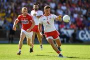 7 July 2018; Michael McKernan of Tyrone in action against Michael Hurley of Cork during the GAA Football All-Ireland Senior Championship Round 4 between Cork and Tyrone at O'Moore Park in Portlaoise, Co. Laois. Photo by Brendan Moran/Sportsfile
