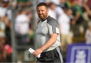 7 July 2018; Kildare manager Cian O'Neill before the GAA Football All-Ireland Senior Championship Round 4 match between Fermanagh and Kildare at Páirc Tailteann in Navan, Co. Meath. Photo by Piaras Ó Mídheach/Sportsfile