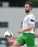 6 July 2018; Conor Early of Cabinteely during the SSE Airticity League First Division match between Cabinteely and Wexford FC at Stradbrook in Dublin.  Photo by Matt Browne/Sportsfile