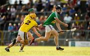 7 July 2018; Cormac Boyle of Westmeath in action against Damien Reck of Wexford during the GAA Hurling All-Ireland Senior Championship Preliminary Quarter-Final match between Westmeath and Wexford at TEG Cusack Park in Mullingar, Co. Westmeath. Photo by Diarmuid Greene/Sportsfile