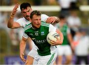 7 July 2018; Aidan Breen of Fermanagh in action against Fergal Conway of Kildare during the GAA Football All-Ireland Senior Championship Round 4 match between Fermanagh and Kildare at Páirc Tailteann in Navan, Co. Meath. Photo by Piaras Ó Mídheach/Sportsfile
