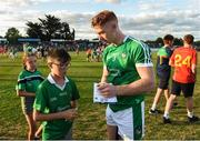 7 July 2018; Cian Lynch of Limerick with supporters after the GAA Hurling All-Ireland Senior Championship Preliminary Quarter-Final match between Carlow and Limerick at Netwatch Cullen Park in Carlow. Photo by Matt Browne/Sportsfile