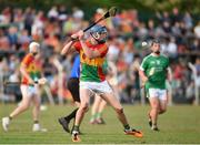 7 July 2018; Diarmuid Byrne of Carlow during the GAA Hurling All-Ireland Senior Championship Preliminary Quarter-Final match between Carlow and Limerick at Netwatch Cullen Park in Carlow. Photo by Matt Browne/Sportsfile