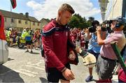 8 July 2018; Joe Canning of Galway arrives prior to the Leinster GAA Hurling Senior Championship Final Replay match between Kilkenny and Galway at Semple Stadium in Thurles, Co Tipperary. Photo by Brendan Moran/Sportsfile
