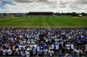 8 July 2018; A general view during the GAA Football All-Ireland Senior Championship Round 4 match between Laois and Monaghan at Páirc Tailteann in Navan, Co Meath. Photo by Ramsey Cardy/Sportsfile