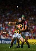 8 July 2018; Ger Aylward of Kilkenny in action against Adrian Tuohey of Galway during the Leinster GAA Hurling Senior Championship Final Replay match between Kilkenny and Galway at Semple Stadium in Thurles, Co Tipperary. Photo by Ray McManus/Sportsfile