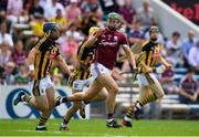 8 July 2018; Adrian Tuohey of Galway in action against Billy Ryan and Ger Aylward of Kilkenny during the Leinster GAA Hurling Senior Championship Final Replay match between Kilkenny and Galway at Semple Stadium in Thurles, Co Tipperary. Photo by Brendan Moran/Sportsfile