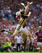 8 July 2018; Walter Walsh of Kilkenny in action against Gearóid McInerney of Galway during the Leinster GAA Hurling Senior Championship Final Replay match between Kilkenny and Galway at Semple Stadium in Thurles, Co Tipperary. Photo by Brendan Moran/Sportsfile