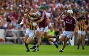 8 July 2018; TJ Reid of Kilkenny in action against David Burke of Galway during the Leinster GAA Hurling Senior Championship Final Replay match between Kilkenny and Galway at Semple Stadium in Thurles, Co Tipperary. Photo by Brendan Moran/Sportsfile