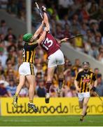 8 July 2018; Conor Whelan of Galway in action against Paul Murphy of Kilkenny during the Leinster GAA Hurling Senior Championship Final Replay match between Kilkenny and Galway at Semple Stadium in Thurles, Co Tipperary. Photo by Eóin Noonan/Sportsfile