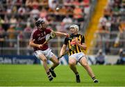 8 July 2018; Liam Blanchfield of Kilkenny in action against Pádraig Mannion of Galway during the Leinster GAA Hurling Senior Championship Final Replay match between Kilkenny and Galway at Semple Stadium in Thurles, Co Tipperary. Photo by Brendan Moran/Sportsfile