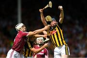 8 July 2018; John Donnelly of Kilkenny in action against Daithí Burke of Galway during the Leinster GAA Hurling Senior Championship Final Replay match between Kilkenny and Galway at Semple Stadium in Thurles, Co Tipperary. Photo by Eóin Noonan/Sportsfile