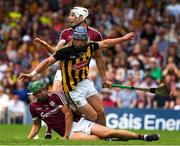 8 July 2018; Ger Aylward of Kilkenny turns to celebrate his 34th minute goal during the Leinster GAA Hurling Senior Championship Final Replay match between Kilkenny and Galway at Semple Stadium in Thurles, Co Tipperary. Photo by Ray McManus/Sportsfile