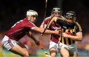 8 July 2018; Richie Hogan of Kilkenny in action against Daithí Burke of Galway during the Leinster GAA Hurling Senior Championship Final Replay match between Kilkenny and Galway at Semple Stadium in Thurles, Co Tipperary. Photo by Eóin Noonan/Sportsfile