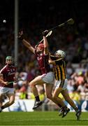 8 July 2018; Jonathan Glynn of Galway  in action against Padraig Walsh of Kilkenny during the Leinster GAA Hurling Senior Championship Final Replay match between Kilkenny and Galway at Semple Stadium in Thurles, Co Tipperary. Photo by Ray McManus/Sportsfile