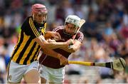 8 July 2018; Robert Lennon of Kilkenny in action against Jason Flynn of Galway during the Leinster GAA Hurling Senior Championship Final Replay match between Kilkenny and Galway at Semple Stadium in Thurles, Co Tipperary. Photo by Brendan Moran/Sportsfile