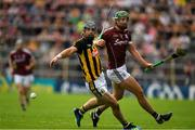 8 July 2018; Ger Aylward of Kilkenny in action against Adrian Tuohey of Galway during the Leinster GAA Hurling Senior Championship Final Replay match between Kilkenny and Galway at Semple Stadium in Thurles, Co Tipperary. Photo by Brendan Moran/Sportsfile