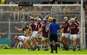 8 July 2018; Richie Hogan of Kilkenny celebrates after scoring his side's third goal during the Leinster GAA Hurling Senior Championship Final Replay match between Kilkenny and Galway at Semple Stadium in Thurles, Co Tipperary. Photo by Brendan Moran/Sportsfile