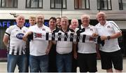 10 July 2018; Dundalk supporters on their arrival to Tallinn ahead of the UEFA Europa League 1st Qualifying Round First Leg match between Levadia Tallinn and Dundalk on Thursday. Photo by Matt Browne/Sportsfile