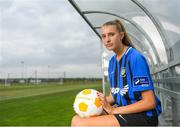 11 July 2018; Chloe Darby of Athlone Town during a Continental Tyres Under 17 Women's National League launch at the FAI HQ in Abbotstown, Dublin. Photo by Piaras Ó Mídheach/Sportsfile