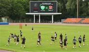 11 July 2018; A general view of Dundalk team training at the Kadriorg Stadium in Tallinn, Estonia. Photo by Matt Browne/Sportsfile