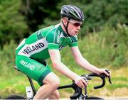 13 July 2018; Liam Curley, Ireland National Team, in action during the Eurocycles Eurobaby Junior Tour of Ireland 2018 Stage Four, Ennis to Ballyvaughan. Photo by Stephen McMahon/Sportsfile