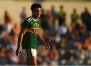 29 June 2018; Stefan Okunbor of Kerry during the EirGrid Munster GAA Football U20 Championship Final match between Kerry and Cork at Austin Stack Park in Tralee, Kerry. Photo by Piaras Ó Mídheach/Sportsfile