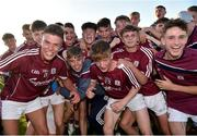 13 July 2018; Galway players celebrate following the Electric Ireland Connacht GAA Minor Championship Final match between Roscommon and Galway at Dr Hyde Park in Roscommon. Photo by Matt Browne/Sportsfile