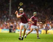 8 July 2018; Joe Canning of Galway during the Leinster GAA Hurling Senior Championship Final Replay match between Kilkenny and Galway at Semple Stadium in Thurles, Co Tipperary. Photo by Ray McManus/Sportsfile