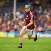 8 July 2018; Keelan Creaven of Galway of Galway during the Electric Ireland GAA Hurling All-Ireland Minor Championship Quarter-Final match between Galway and Limerick at Semple Stadium in Thurles, Co Tipperary. Photo by Ray McManus/Sportsfile