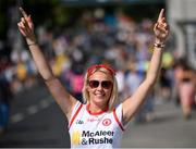 14 July 2018; Tyrone supporter Shannen Keenan from Ballygawley, County Tyrone, prior to the GAA Football All-Ireland Senior Championship Quarter-Final Group 2 Phase 1 match between Tyrone and Roscommon at Croke Park, in Dublin. Photo by David Fitzgerald/Sportsfile