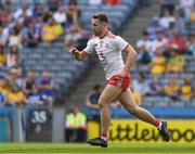 14 July 2018; Niall Sludden of Tyrone celebrates scoring a goal in the 12th minute of  the GAA Football All-Ireland Senior Championship Quarter-Final Group 2 Phase 1 match between Tyrone and Roscommon at Croke Park in Dublin. Photo by Ray McManus/Sportsfile