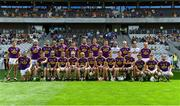 14 July 2018; The Wexford squad prior to the GAA Hurling All-Ireland Senior Championship Quarter-Final match between Clare and Wexford at Páirc Ui Chaoimh in Cork. Photo by Brendan Moran/Sportsfile