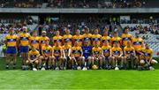 14 July 2018; The Clare squad prior to the GAA Hurling All-Ireland Senior Championship Quarter-Final match between Clare and Wexford at Páirc Ui Chaoimh in Cork. Photo by Brendan Moran/Sportsfile