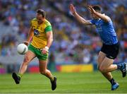 14 July 2018; Michael Murphy of Donegal  in action against Brian Fenton of Dublin during the GAA Football All-Ireland Senior Championship Quarter-Final Group 2 Phase 1 match between Dublin and Donegal at Croke Park in Dublin. Photo by Ray McManus/Sportsfile