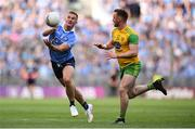 14 July 2018; Ciarán Kilkenny of Dublin in action against Eamonn Doherty of Donegal during the GAA Football All-Ireland Senior Championship Quarter-Final Group 2 Phase 1 match between Dublin and Donegal at Croke Park, in Dublin. Photo by David Fitzgerald/Sportsfile