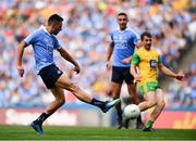 14 July 2018; Niall Scully of Dublin scores his side's frst goal during the GAA Football All-Ireland Senior Championship Quarter-Final Group 2 Phase 1 match between Dublin and Donegal at Croke Park in Dublin. Photo by David Fitzgerald/Sportsfile