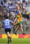 14 July 2018; Brian Fenton of Dublin contests a high ball with Caolan Ward of Donegal during the GAA Football All-Ireland Senior Championship Quarter-Final Group 2 Phase 1 match between Dublin and Donegal at Croke Park, in Dublin. Photo by David Fitzgerald/Sportsfile