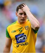 14 July 2018; Jamie Brennan of Donegal dejected following the GAA Football All-Ireland Senior Championship Quarter-Final Group 2 Phase 1 match between Dublin and Donegal at Croke Park in Dublin. Photo by David Fitzgerald/Sportsfile