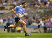 14 July 2018; Cormac Costello of Dublinon his way to scoring a point in the 48th minute of the GAA Football All-Ireland Senior Championship Quarter-Final Group 2 Phase 1 match between Dublin and Donegal at Croke Park in Dublin.  Photo by Ray McManus/Sportsfile