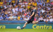 14 July 2018; Dublin captain and goalkeeper Stephen Cluxton during the GAA Football All-Ireland Senior Championship Quarter-Final Group 2 Phase 1 match between Dublin and Donegal at Croke Park in Dublin. Photo by Ray McManus/Sportsfile