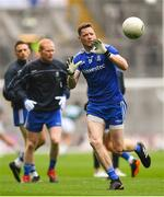 15 July 2018; Conor McManus of Monaghan warms-up prior to the GAA Football All-Ireland Senior Championship Quarter-Final Group 1 Phase 1 match between Kildare and Monaghan at Croke Park, Dublin. Photo by David Fitzgerald/Sportsfile