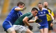 15 July 2018; Mick O'Grady of Kildare in action against Darren Hughes of Monaghan during the GAA Football All-Ireland Senior Championship Quarter-Final Group 1 Phase 1 match between Kildare and Monaghan at Croke Park, Dublin. Photo by David Fitzgerald/Sportsfile